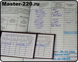 Документы по приемке электромонтажных работ